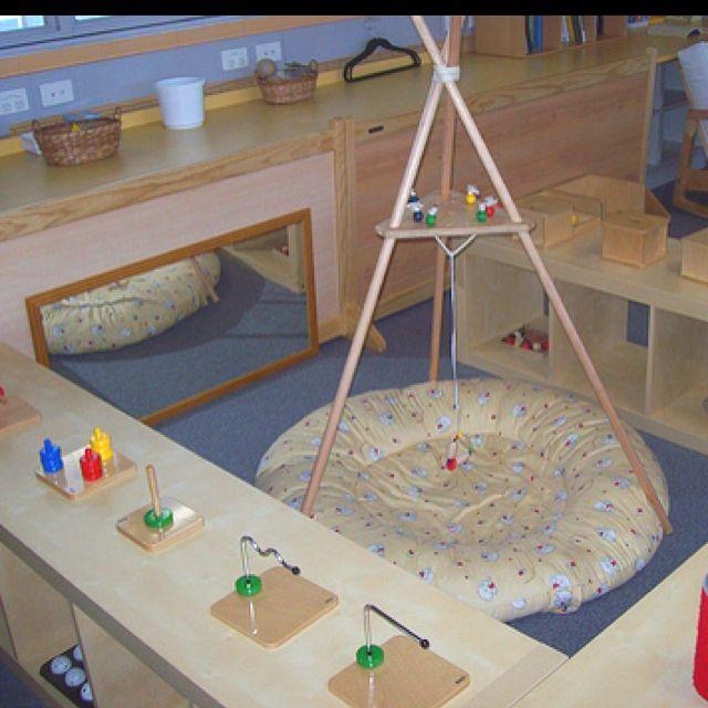 Classroom Mobiles Ideas : Non mobile infant space in montessori classroom