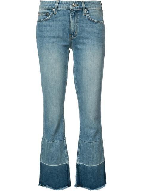Derek Lam 10 Crosby light wash cropped jeans
