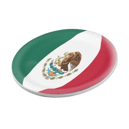 Mexico Mexican Flag Paper Plate - kitchen gifts diy ideas decor special unique inidual customized  sc 1 st  Pinterest & Mexico Mexican Flag Paper Plate - kitchen gifts diy ideas decor ...