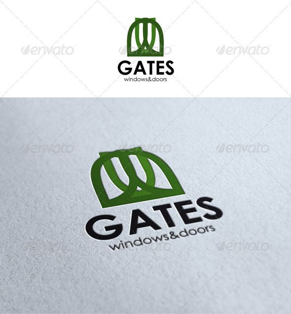 Gates Logo Logo Templates Gate Logo Logos