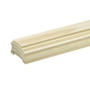 Best Pressure Treated 2 In X 3 In X 6 Ft Wood Moulded Rail 400 x 300
