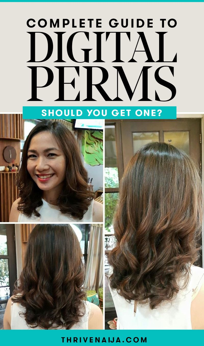 Digital Perm Guide Everything To Know About Getting A Digital Perm Digital Perm Permed Hairstyles Body Wave Perm
