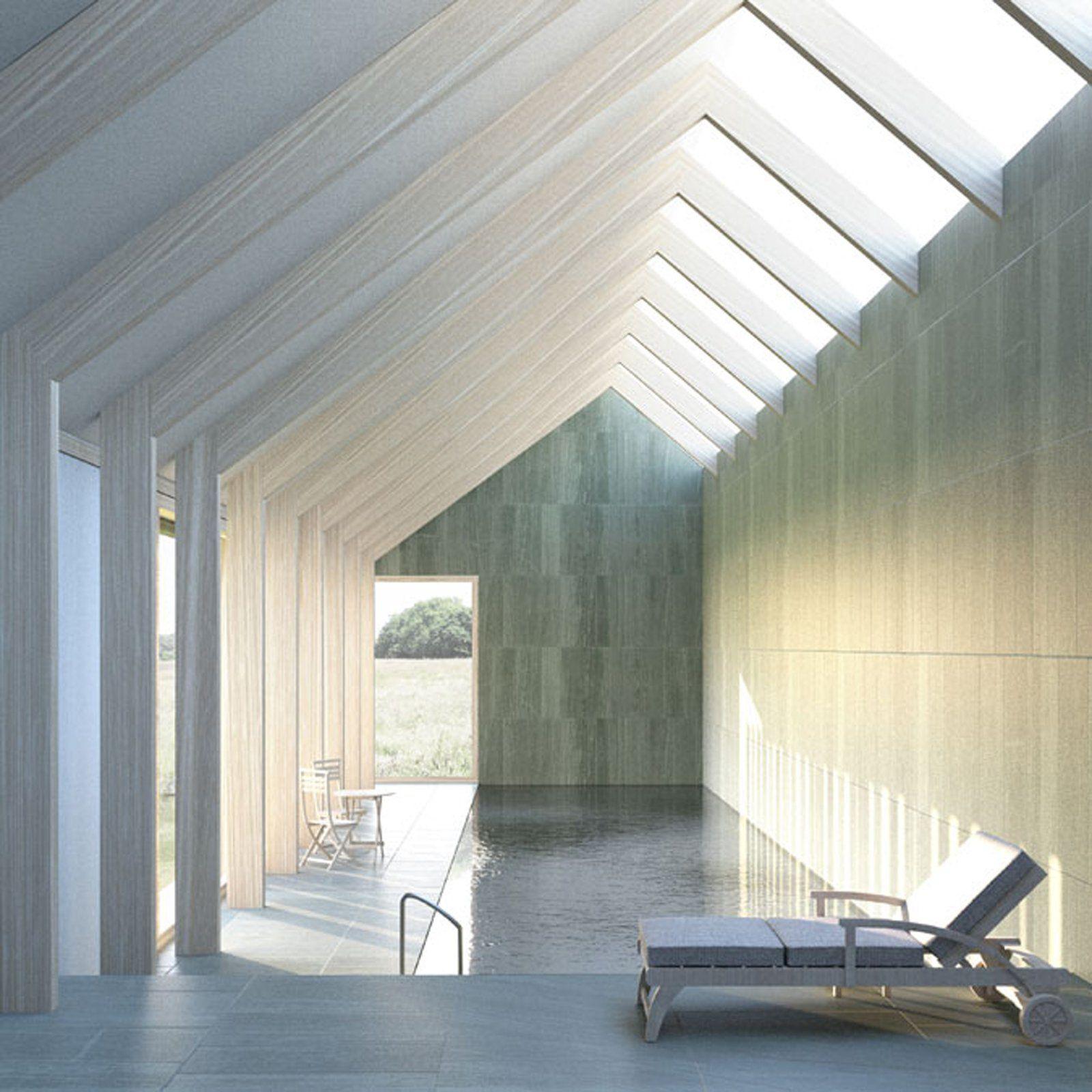 Indoor pool james gorst architects interior design for Hill james design d interieur
