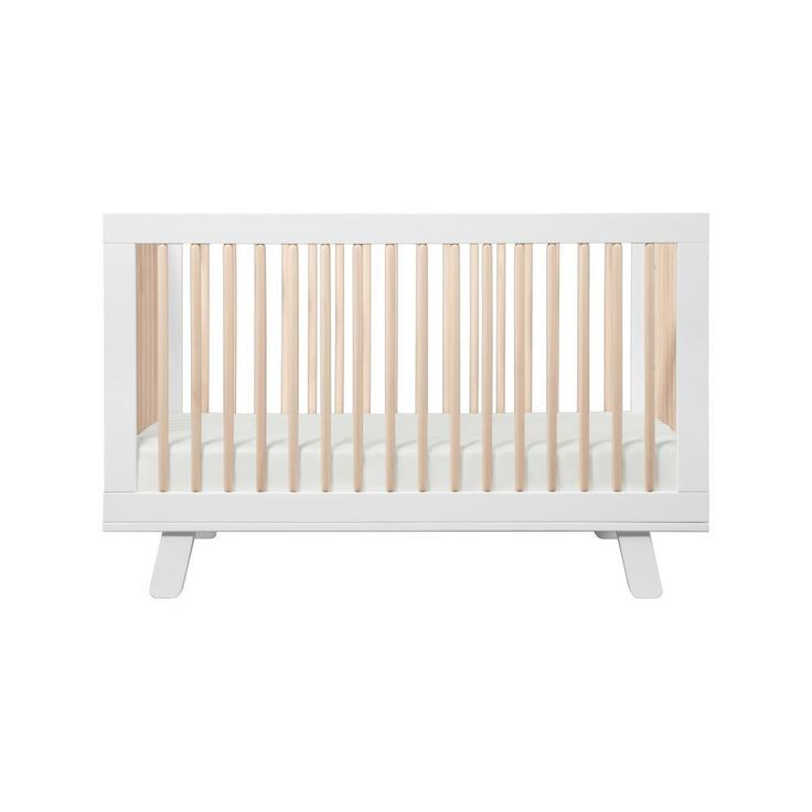 Hudson 3 In 1 Convertible Crib With Toddler Bed Conversion Kit Convertible Crib Cribs Baby Furniture
