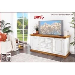 Photo of Sideboard, Kommode Shabby Chic, weiß-natur, Pinie 1a direktimport