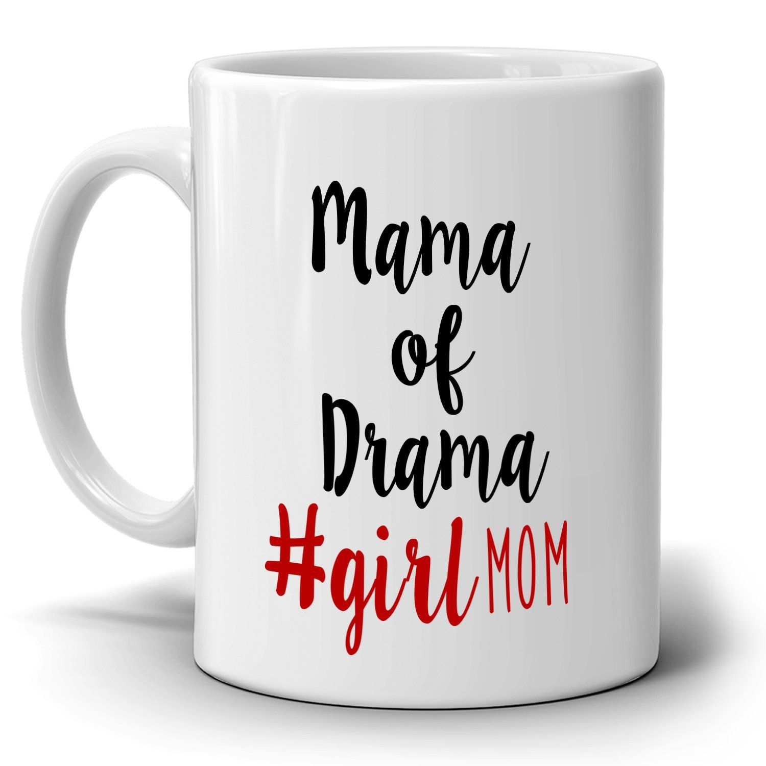 Funny daughters gifts for mothers day mug mama of drama