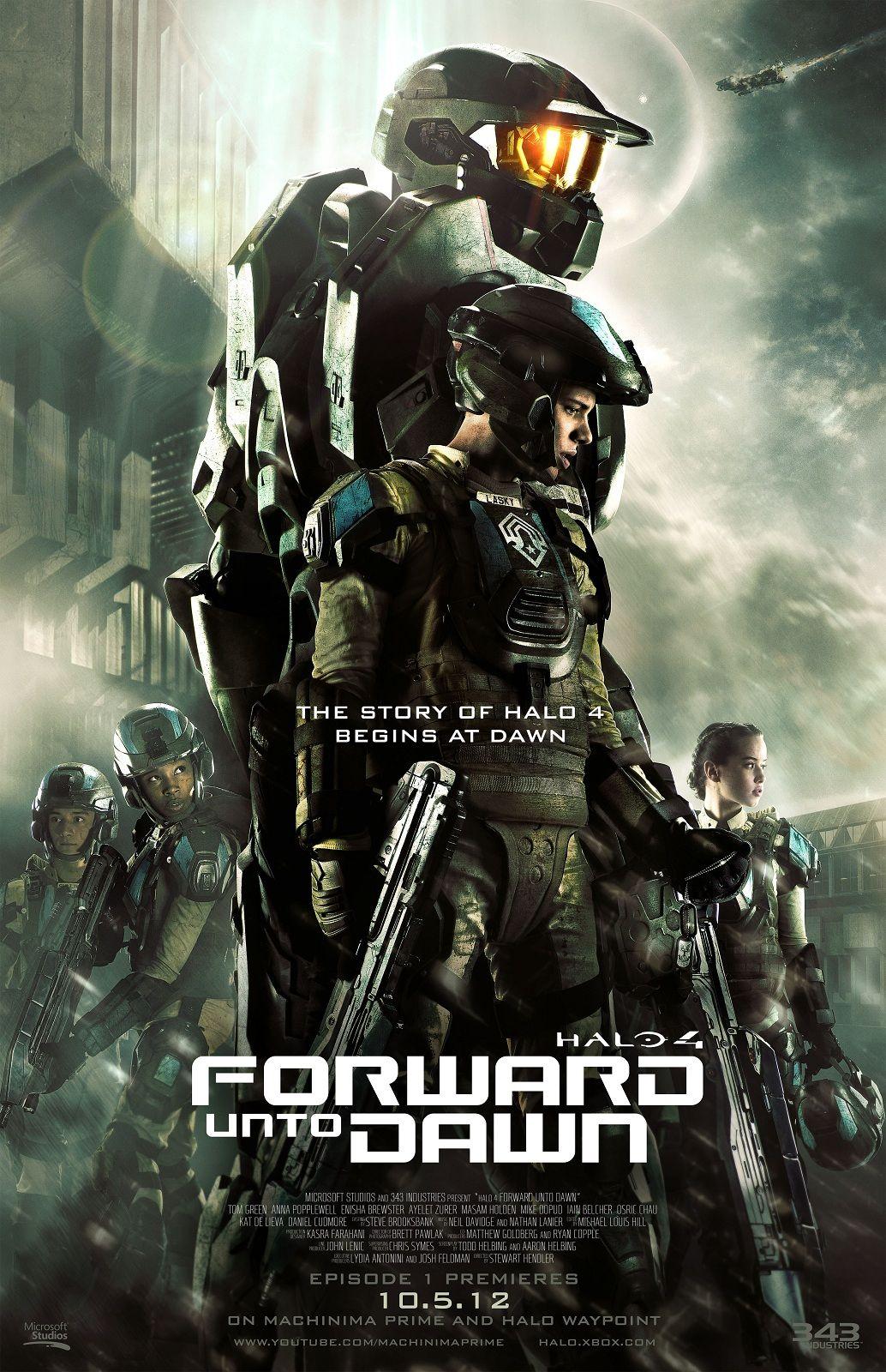 Halo 4 Forward Unto Dawn Live Action Halo Series Halo 4