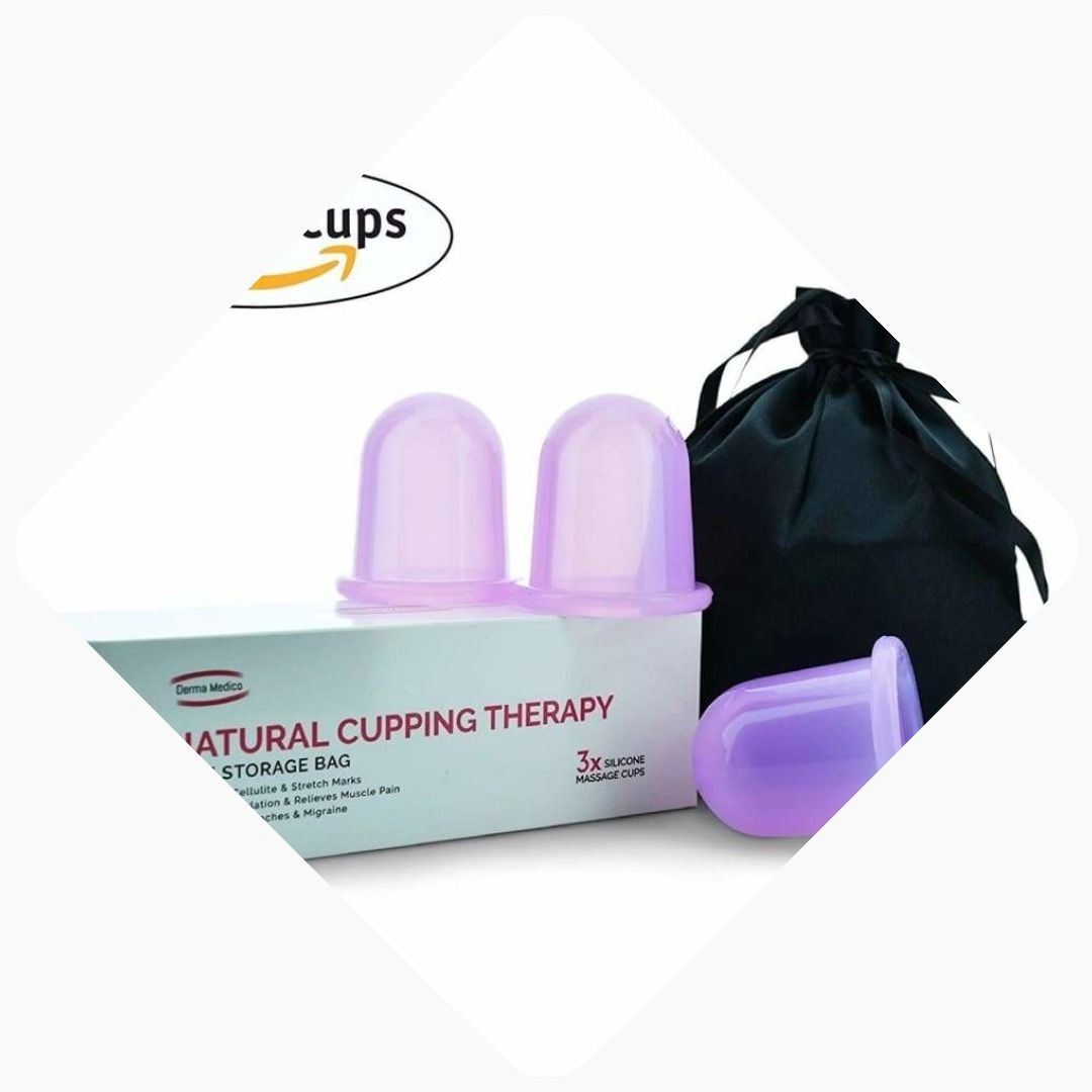 What Are Cupping Marks: Derma Medico Silicone Body Massage Cups For Natural
