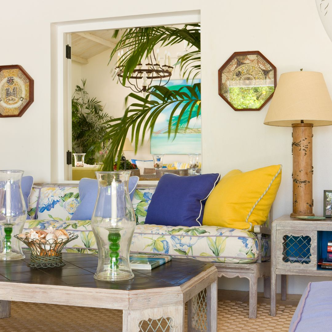 antigua  tropical living room tropical bedroom decor