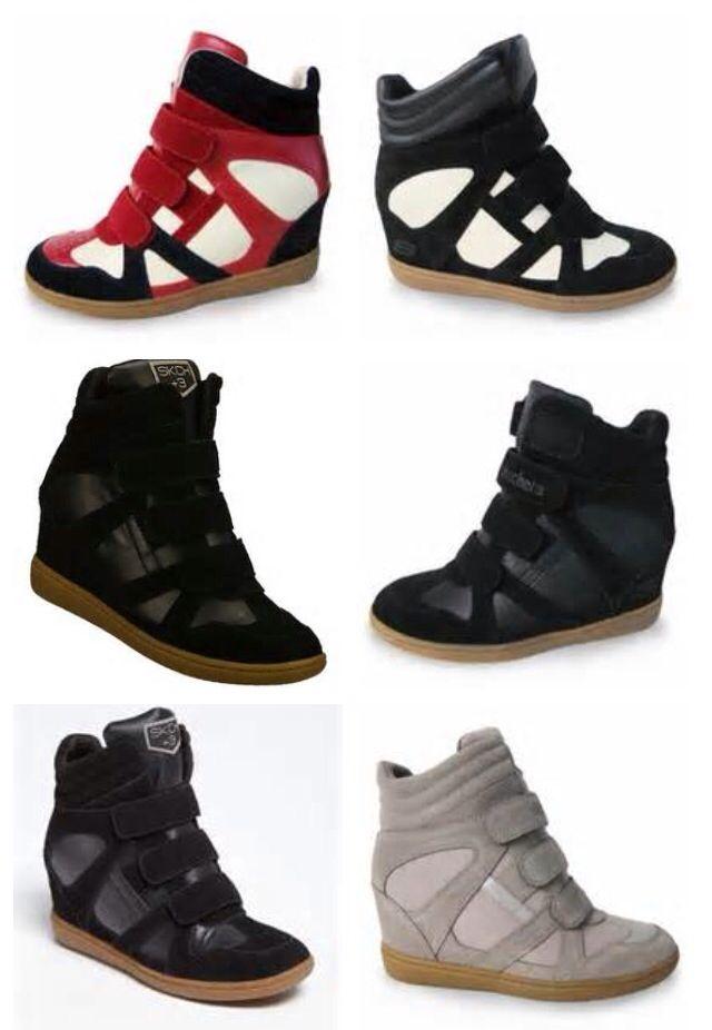 skechers wedge shoes