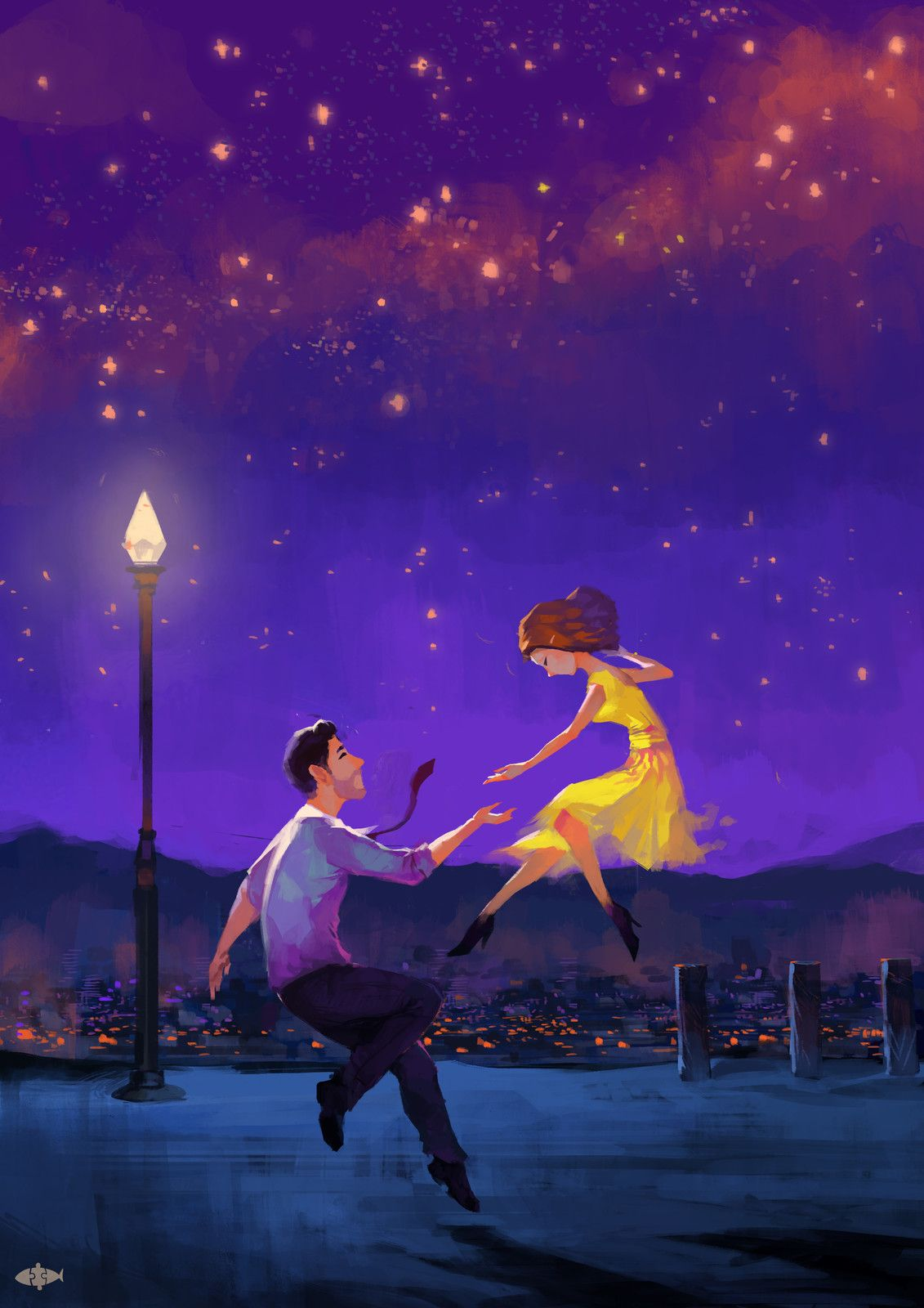 lalaland, Tu Na on ArtStation at https://www.artstation ...