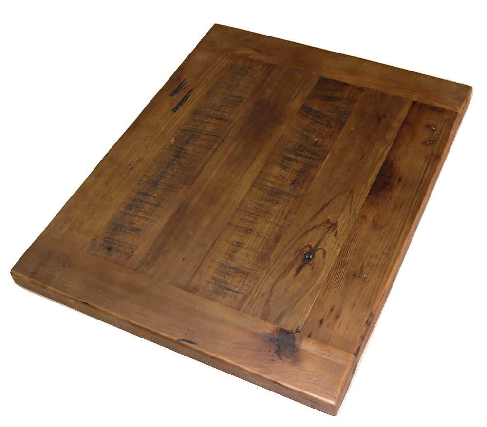 Solid Reclaimed Wood Table Tops With Breadboard Ends Reclaimed Wood Table Top Wood Table Top Reclaimed Wood Table
