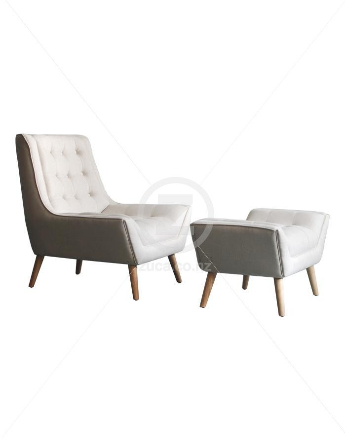 Fitzgerald Chair and Ottoman   ZUCA   Homeware  Chairs  Replica Furniture   Barstools  Fitzgerald Chair and Ottoman   ZUCA   Homeware  Chairs  Replica  . Dsw Replica Chairs Nz. Home Design Ideas