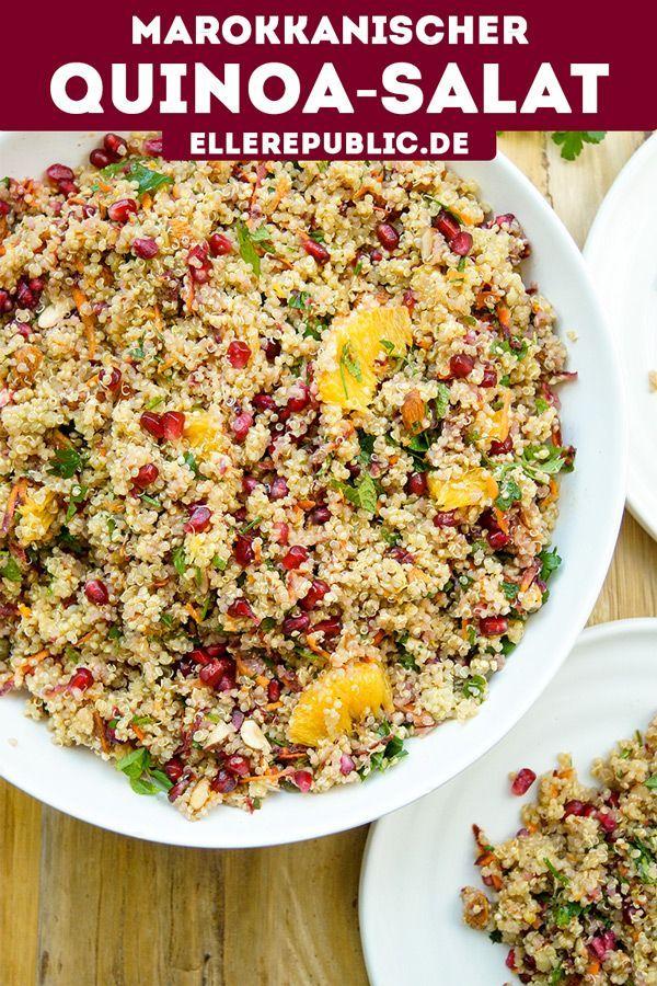 Marokkanischer Quinoa-Salat | Rezept | Elle Republic