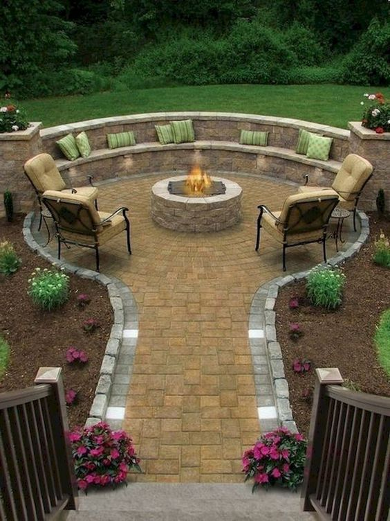 Photo of 45 Awesome Backyard Seating Area Make You Feel Relax