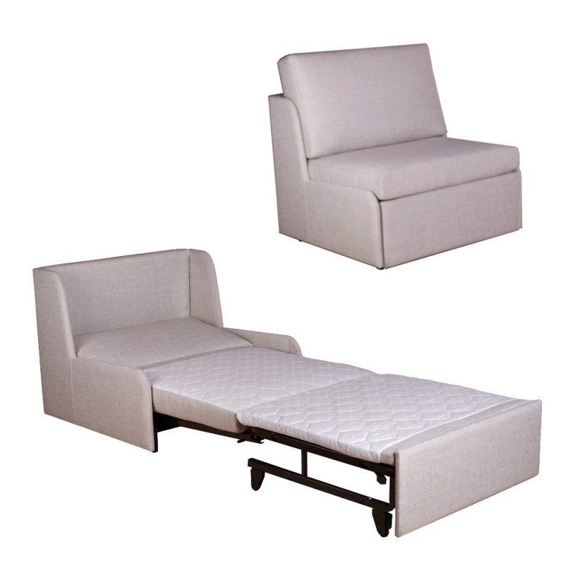 Furniture Cool Sleeper Chair 100 Percent Polyester Ideas For Fold