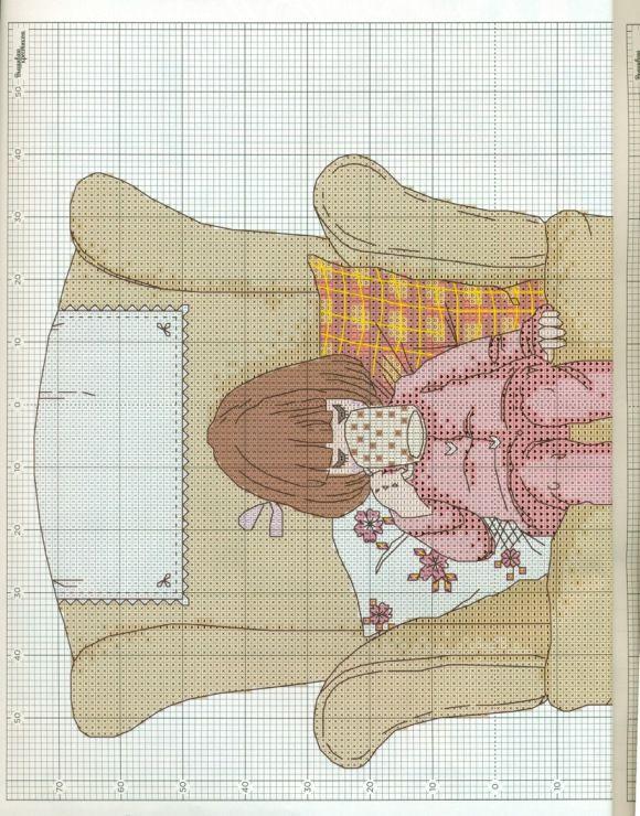 Pin de Anna Di Maggio en gorjuss | Pinterest | Punto de cruz, Puntos ...