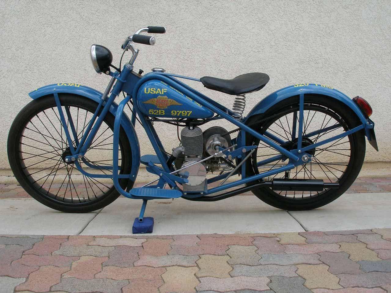 Simplex Servi Cycle Motorcycle Vintage Bikes Vintage Motorcycles