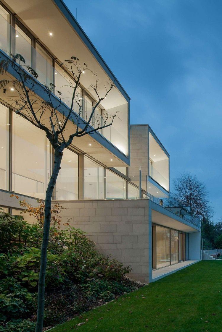 House P+G by Architekten Wannenmacher + Möller | Moderne architektur ...