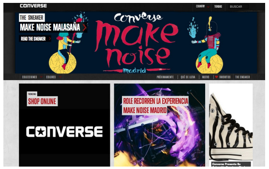 Marketing y Música | Music Branding. Estudio del caso Converse, https://promocionmusical.es/recursos/marketing-musical/: