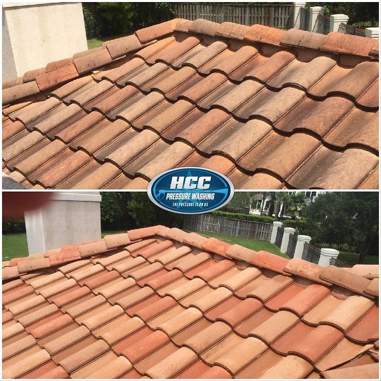 Pin by HCC Pressure Washing, LLC on Roof Washing Soft