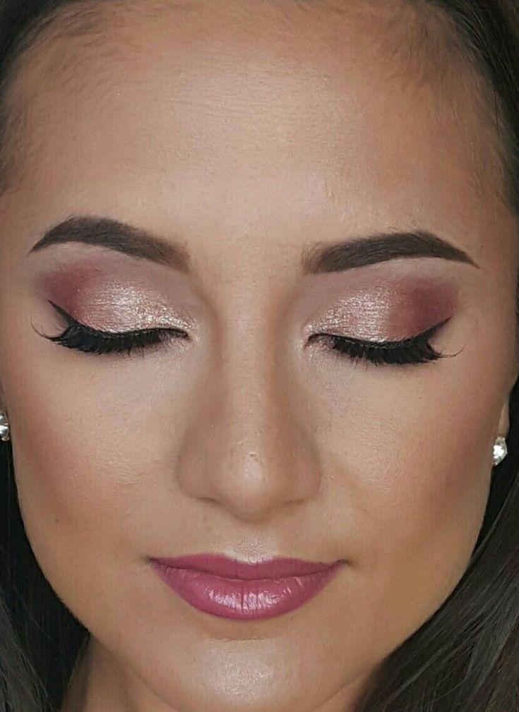 Photo of Rose gold wedding makeup eyeshadow, #wedding # eyeshadow