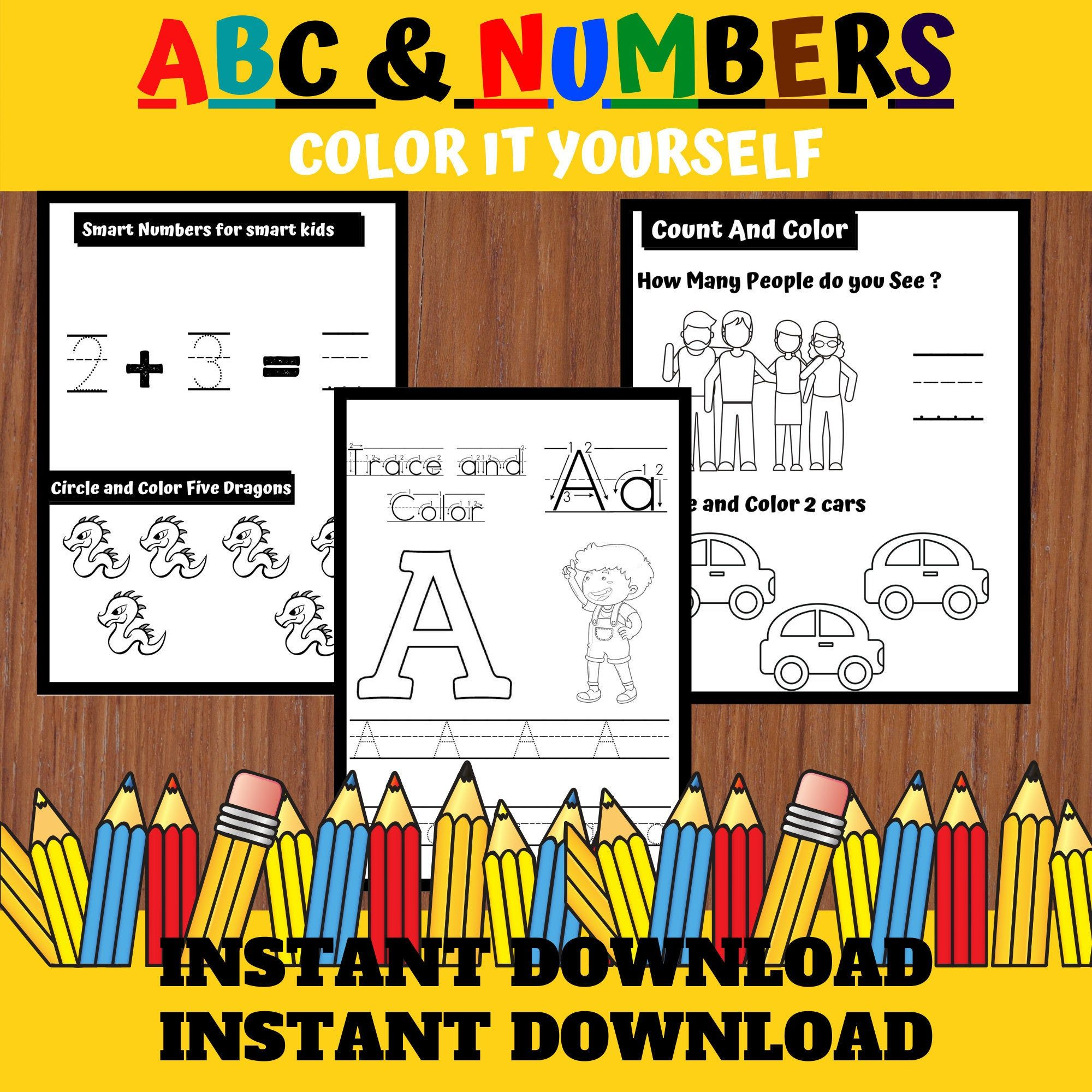 Pin On Abc And Numbers