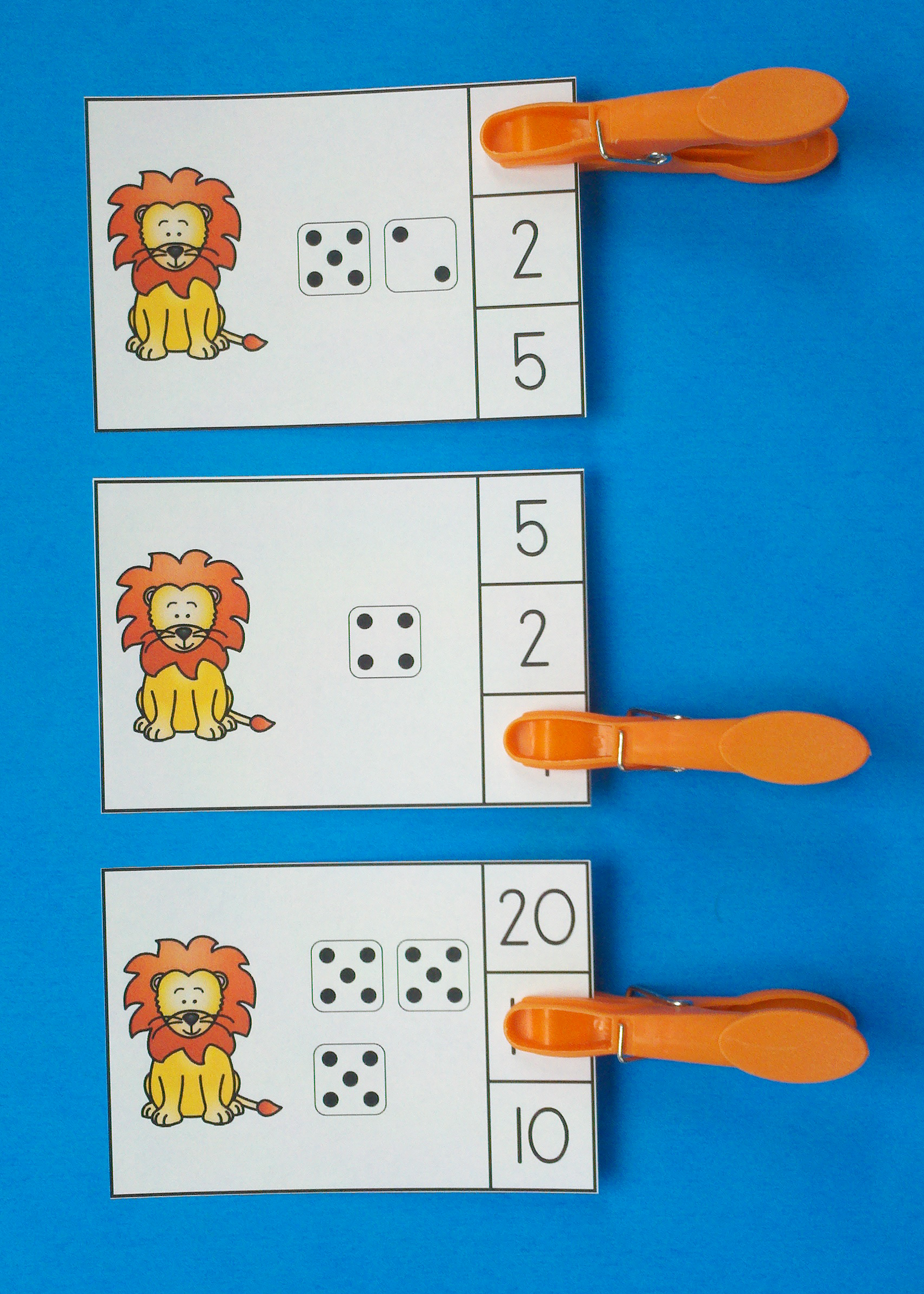 Zoo Animals Numerals To 20 Clip Cards Clip Cards Zoo Animals Zoo Activities [ 2394 x 1710 Pixel ]