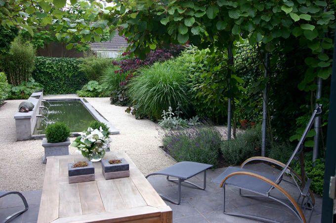 Tuin sfeer privacy grind garden inspirati