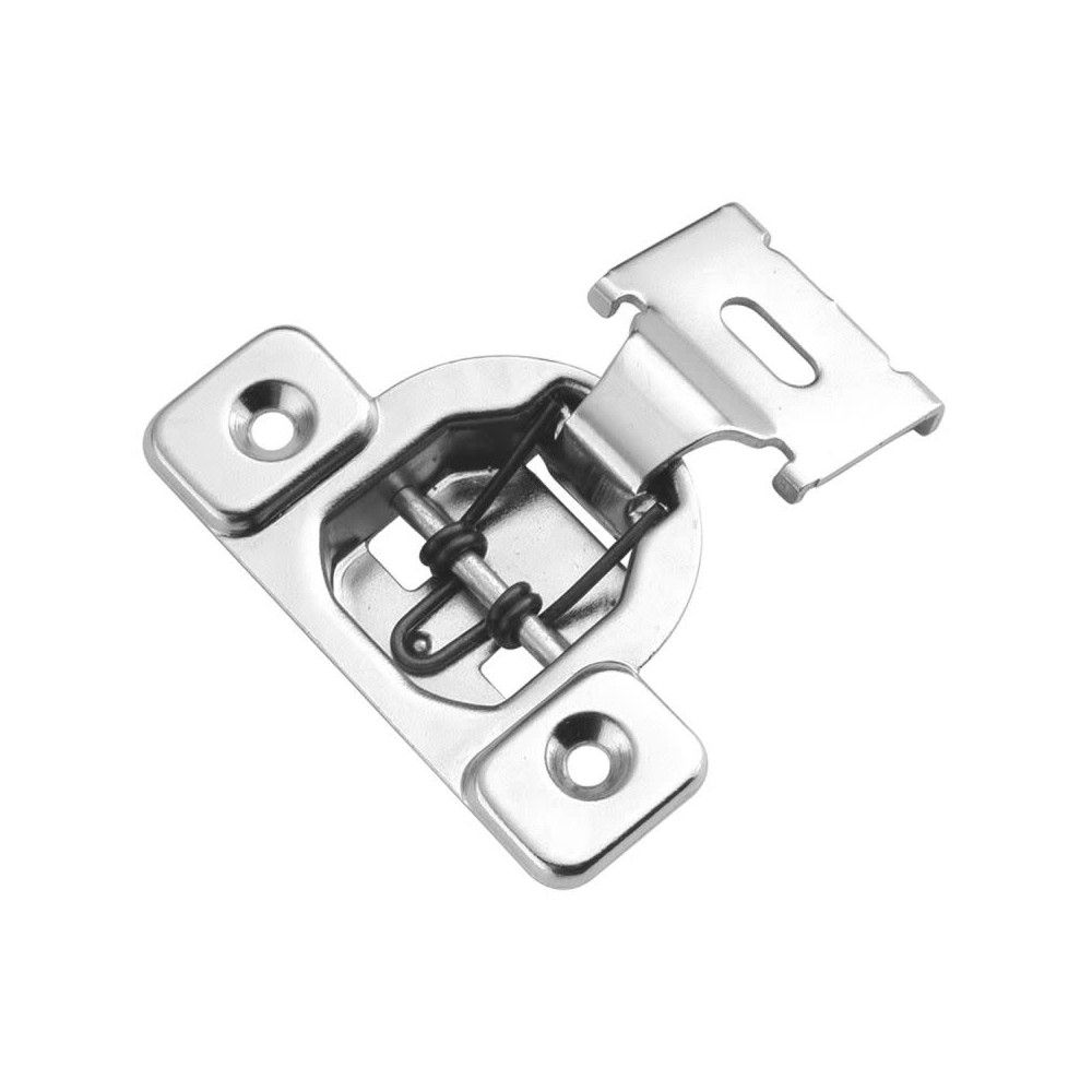 1 2 Overlay Screw On Concealed European Cabinet Door Hinge With 105 Degree Opening Angle And Self Closing Functi Hickory Hardware European Cabinets Door Hinges