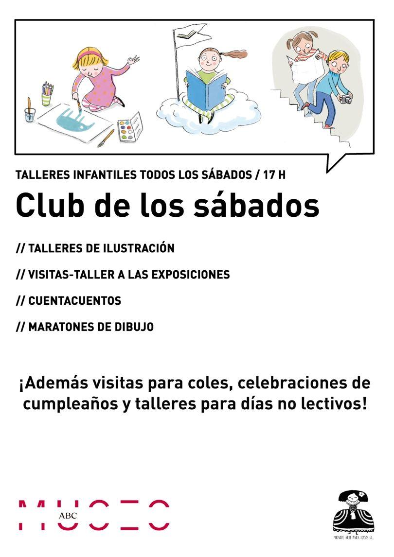 El club de los sábados, talleres artisticos para niños en el museo ...
