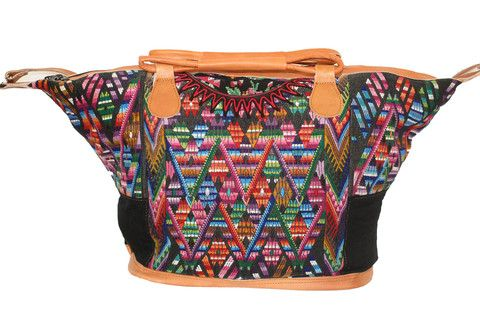 Large Huipil Bag-Volcan