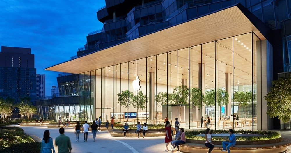 DESIGNBOOM 'apple iconsiam' is the company's first store
