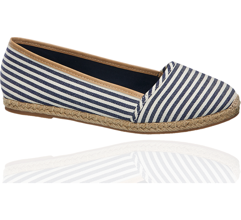 Modne Espadryle Damskie 1100078 Dostawa Gratis Espadrilles Flat Espadrille Shoes