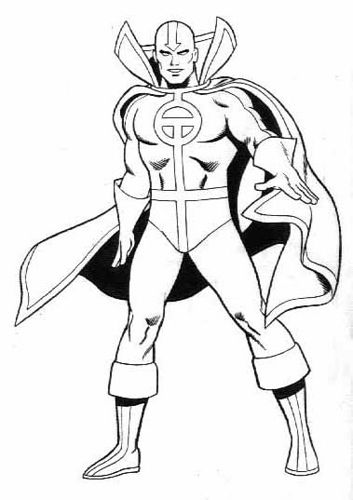 Dclicensing 54 Redtornado Superhero Coloring Superhero Coloring Pages Hulk Coloring Pages