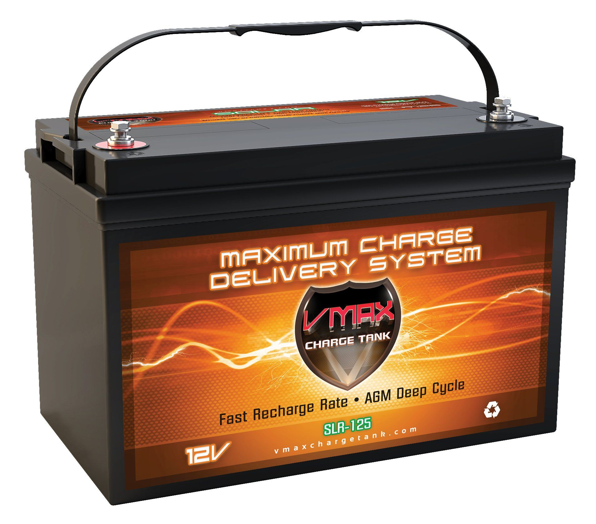 Vmaxtanks SLR125 AGM 12V 125ah Battery for Solar Wind Power