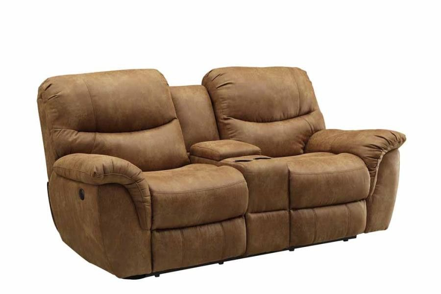 Power Love Seat Two Tone Charcoal
