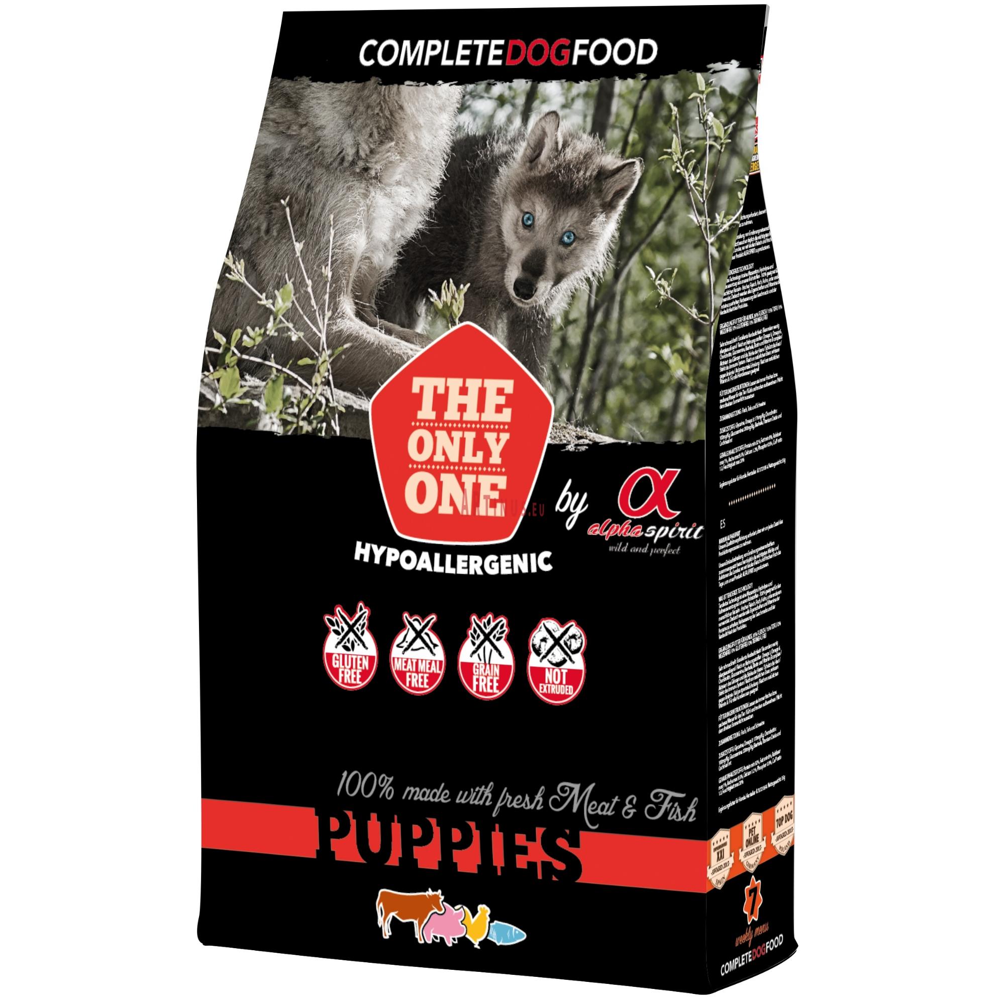 Alpha Spirit Puppies 12 Kg Dog Food Recipes Fresh Meat Puppies