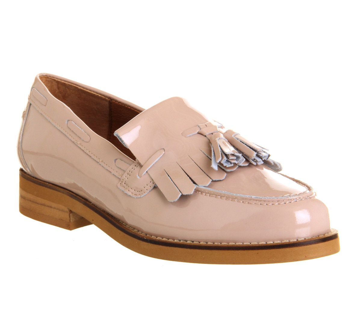 Office Extravaganza Loafer Patent Leather Flats