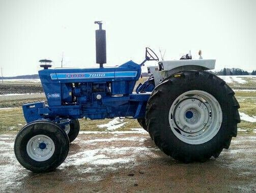 Ford 7000 Tractor : Ford tractors pinterest tractor and