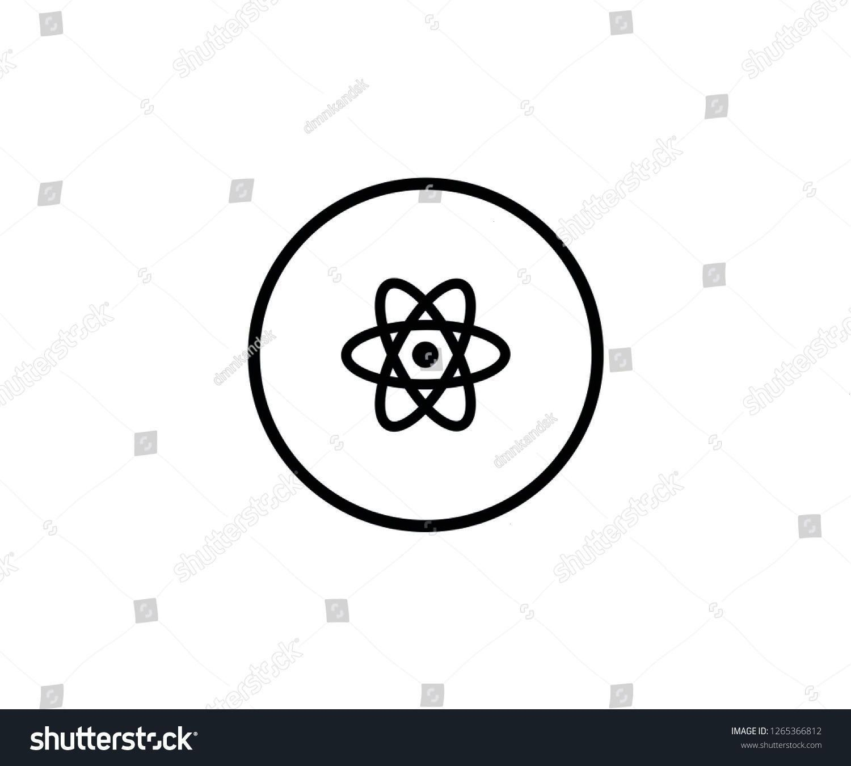 symbol nuclear icon logo science    Atom symbol nuclear icon logo science  Carolines wissenschaft Atomsymbol nukleare Ikone Logo Wissenschaft  symbol Atom sci  Atom symbo...