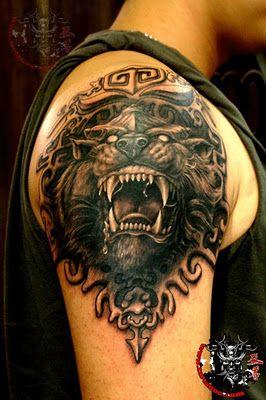 Animal Arm Tattoo