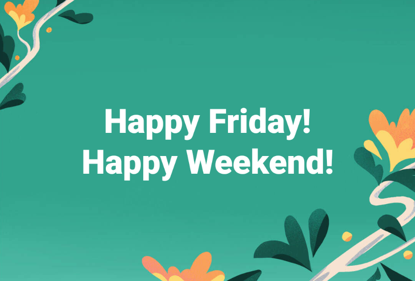 30 Happy Friday Images 2020 >> HD Download in 2020