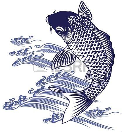 Japanese carp tatouages divers pinterest carpe for Carpe chinoise prix