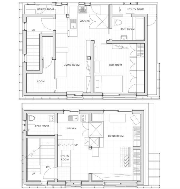 Small Apartments SuoJae The House to Uphold Myself Studio