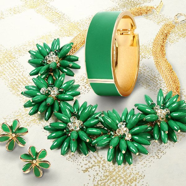 Take a look at the A Touch of Green: Women's Jewelry event on zulily today!