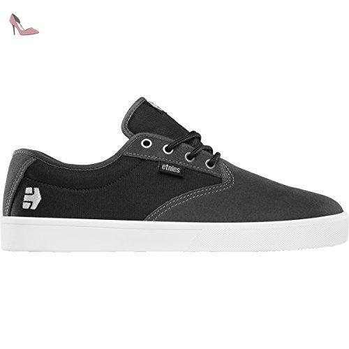 Etnies Scout Yb, Chaussures de Skateboard Homme, Noir (Black/Grey), 42 EU (8 UK)