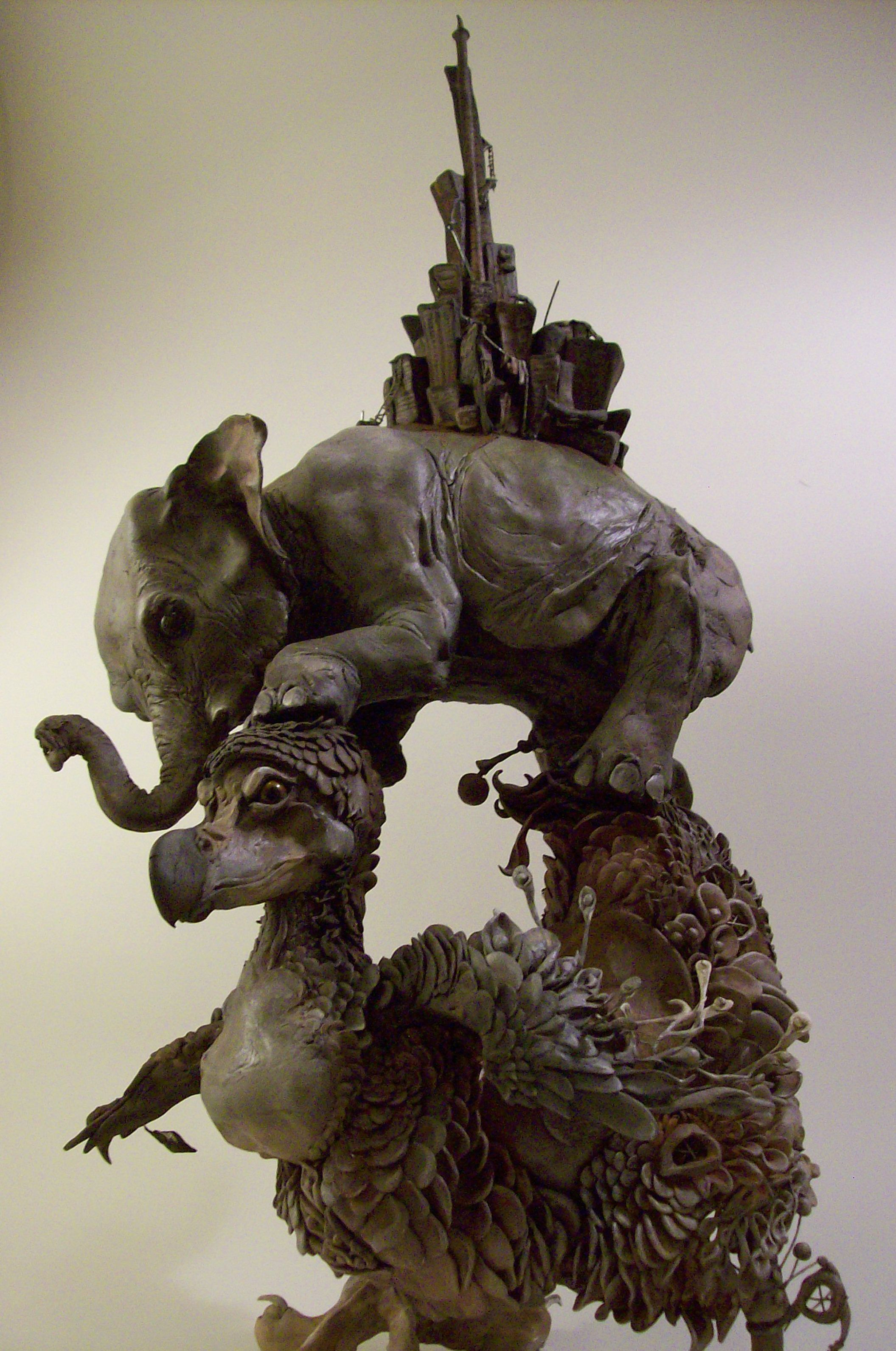 Natural History Surrealism Ellen Jewett Sculptures Httpswww - Surreal animal plant sculptures ellen jewett