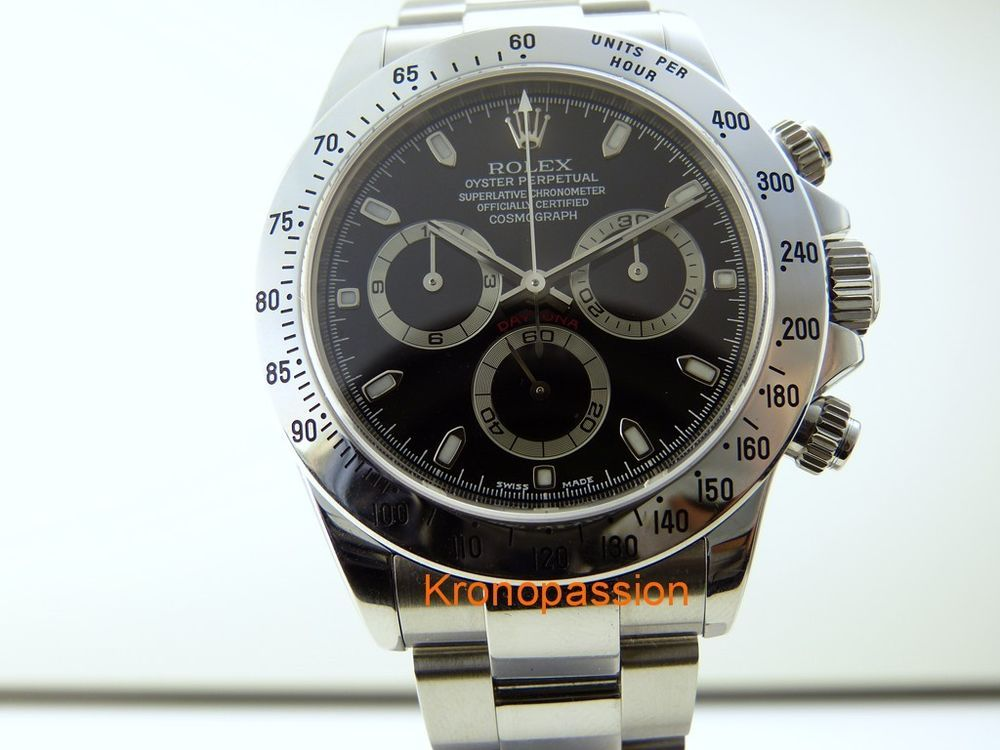 Rolex Oyster Perpetual Cosmograph Daytona Stainless Steel K Series #Rolex #Sport