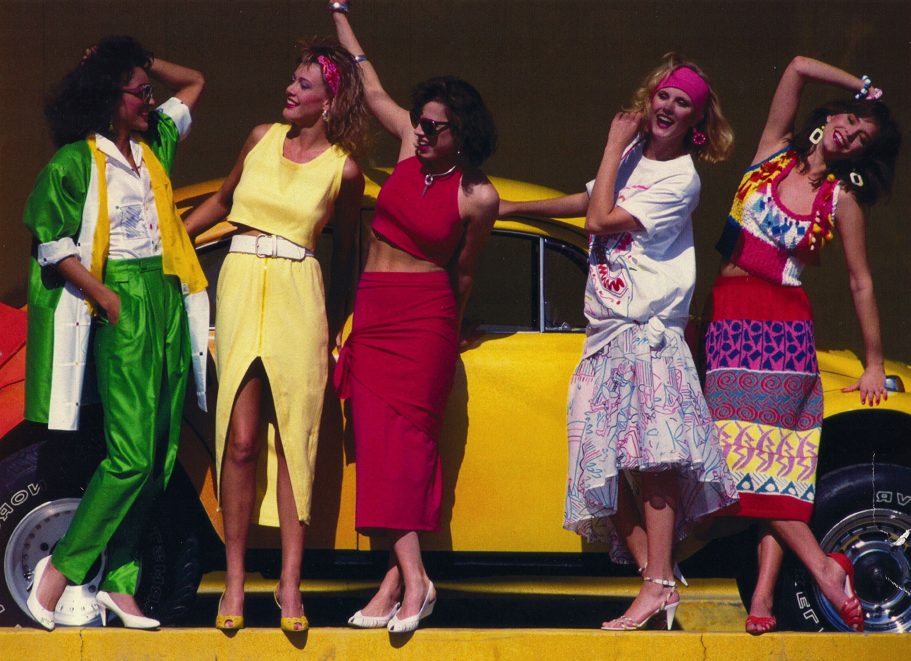 Eighties Fashion 80s Clothing